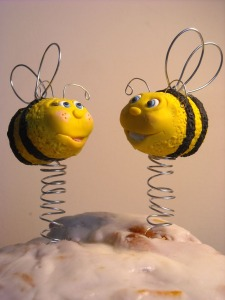 Bees Cake Topper
