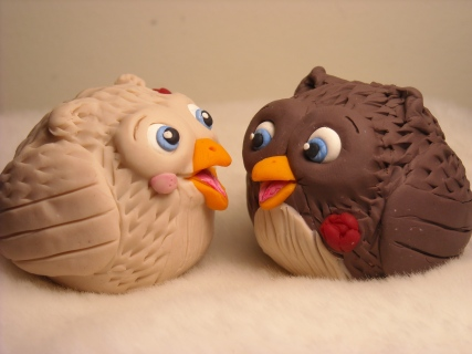 Owls Cake Topper