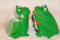 Frog Cake Toppers