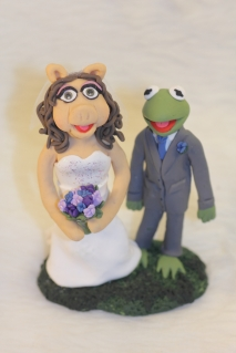 Oh Kermie! Cake Topper