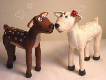 Deer Cake Topper